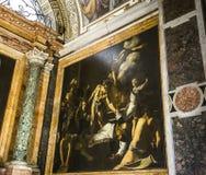 Saint Louis des Francais church, Rome, Italy Stock Photos