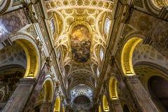 Saint Louis des Francais church, Rome, Italy Stock Photo