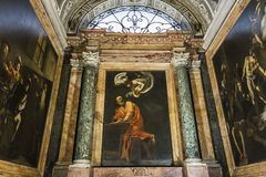 Saint Louis des Francais church, Rome, Italy Royalty Free Stock Photography