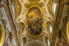 Saint Louis des Francais church, Rome, Italy Stock Photography