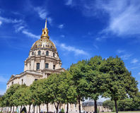 Saint-Louis-des-Invalides. Royalty Free Stock Photo