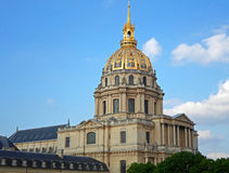 Saint-Louis-des-Invalides Cathedral Royalty Free Stock Photo