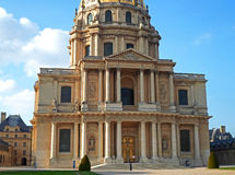 Saint-Louis-des-Invalides Cathedral Royalty Free Stock Photos