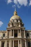 Saint Louis des Invalides church in Paris Stock Photo