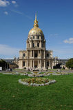 Saint Louis des Invalides church in Paris Royalty Free Stock Image
