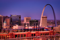 Saint Louis downtown close up view Stock Image