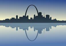 Saint Louis Downtown Riverfront Photo libre de droits