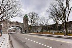 Saint Louis Gate - Quebec, Canada Stock Image
