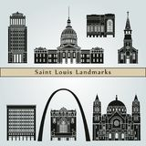 Saint Louis Landmarks Photo libre de droits