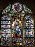 Saint Louis met de Kroon van Doornen stock foto