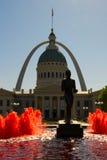 Saint Louis, Missouri - vieille voûte de tribunal et de passage Photographie stock libre de droits
