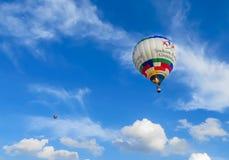 Saint Louis, MO de V.S. - het Ras van de Hete Luchtballon stock afbeelding