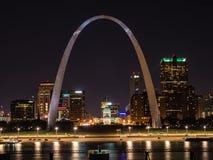 Saint Louis pejzaż miejski obrazy royalty free