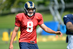 Saint Louis Rams QB Sam Brafdord Royalty Free Stock Images