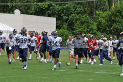 Saint Louis Rams Training Camp Royalty Free Stock Image