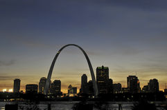Saint Louis Skyline Royalty Free Stock Images