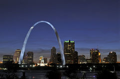 Saint Louis Skyline Stock Photo