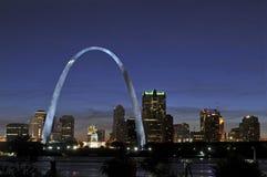 Saint Louis Skyline Stock Photo