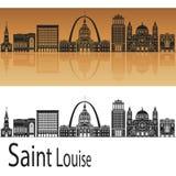 Saint Louis skyline Royalty Free Stock Image