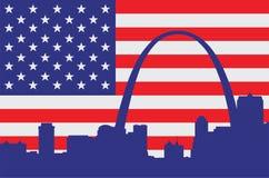 Saint Louis usa Obrazy Royalty Free