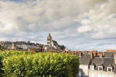 Saint Louiskathedraal in Blois Royalty-vrije Stock Afbeelding