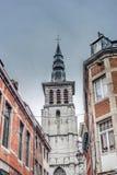 Saint Loup Baroque em Namur, Bélgica foto de stock