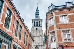Saint Loup Baroque em Namur, Bélgica foto de stock royalty free
