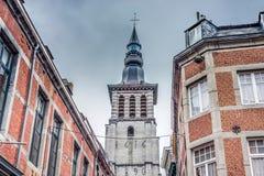Saint Loup Baroque em Namur, Bélgica fotografia de stock