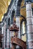 Saint Loup kyrka i Namur, Belgien Royaltyfri Foto