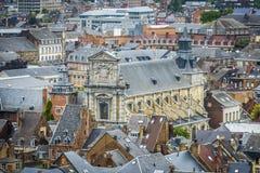 Saint Loupe church in Namur, Belgium Royalty Free Stock Image