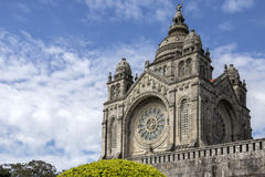 Saint Lucia Basilica - Viana do Castelo - Portugal royalty free stock photos