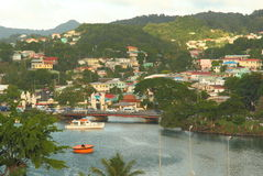 Saint Lucia, Caribbean Island Stock Photos