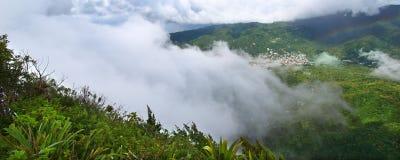 Saint Lucia do pequeno Piton Imagem de Stock Royalty Free