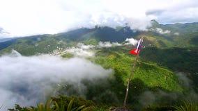 Saint Lucia Petit Piton Summit stock video