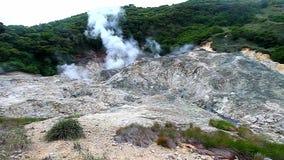 Saint Lucia Sulphur Springs Volcano stock footage