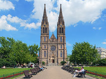 Saint Ludmila Church in Prague, Czech Republic Royalty Free Stock Photos
