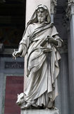 Saint Luke the Evangelist. Statue of Saint Luke the Evangelist Royalty Free Stock Photography
