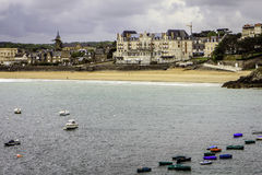 Saint Lunaire, Ille-et-Vilaine, Brittany, França Fotografia de Stock