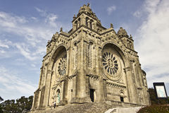 Saint Luzia's Basilica Stock Image