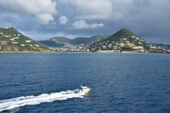 Saint Maarten, Antilles néerlandaises image stock