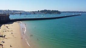 Saint Malo imagens de stock
