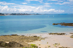 Saint Malo beach Stock Images