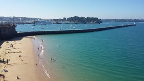 Saint Malo stock images