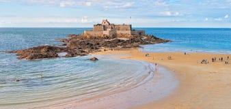 Saint Malo, Bretagne, Frankreich Stockfotografie