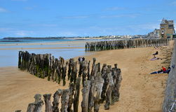 Saint Malo, Brittany, France Royalty Free Stock Photography