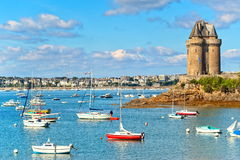 Saint Malo, Brittany, France Stock Photos