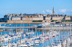 Saint Malo, Brittany, France stock image