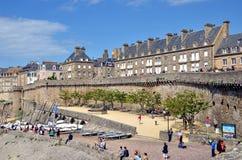 Saint Malo, Brittany, France Royalty Free Stock Image
