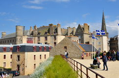 Saint Malo, Brittany, France Royalty Free Stock Image