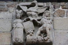 Saint-Malo Church in Dinan Royalty Free Stock Image